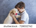 Portrait Of Teen Boy With...
