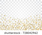 gold stars falling confetti... | Shutterstock .eps vector #728042962