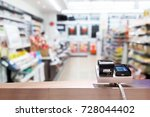 look out from the payment... | Shutterstock . vector #728044402