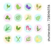 set vector illustration of... | Shutterstock .eps vector #728046556