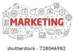 linear illustration of a slide... | Shutterstock .eps vector #728046982