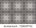 cute floral pattern in the... | Shutterstock . vector #728049742