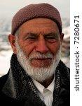 Portrait Of Old Turkish Man