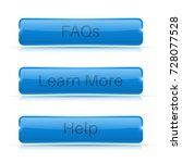 set of blue buttons. menu... | Shutterstock . vector #728077528