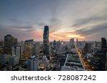 bangkok city   beautiful... | Shutterstock . vector #728087242