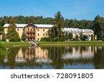 sanatorium in naleczow city.... | Shutterstock . vector #728091805
