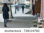 zhovkva  lviv region  ukraine ... | Shutterstock . vector #728114782