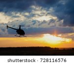 3d rendering of helicopter at... | Shutterstock . vector #728116576