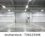 shutter door or roller door and ... | Shutterstock . vector #728125348