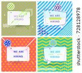 set of trendy abstract...   Shutterstock .eps vector #728128978