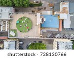 view from the height of the...   Shutterstock . vector #728130766