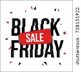 three color graphic sale banner ... | Shutterstock .eps vector #728151922