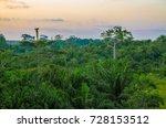 beautiful lush green west... | Shutterstock . vector #728153512