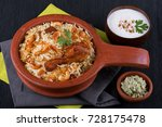 spicy and delicious chicken... | Shutterstock . vector #728175478