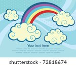 abstract sky background. vector ...