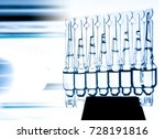 group of ampoules with a... | Shutterstock . vector #728191816