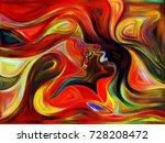 flight of love series. backdrop ... | Shutterstock . vector #728208472