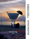 frozen cocktail at beach... | Shutterstock . vector #728233882