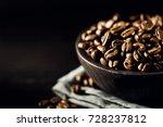 close up shot of freshly... | Shutterstock . vector #728237812
