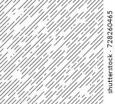 black and white diagonal stripe ... | Shutterstock .eps vector #728260465
