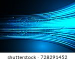 binary circuit board future... | Shutterstock .eps vector #728291452