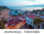old town in antalya  turkey   Shutterstock . vector #728314282