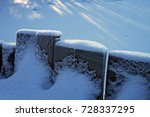 winter logs  snow  russia | Shutterstock . vector #728337295