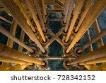 platform production pipeline... | Shutterstock . vector #728342152
