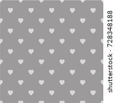 pattern with hearts. flat... | Shutterstock .eps vector #728348188