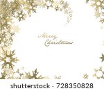 christmas background with... | Shutterstock .eps vector #728350828