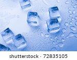 ice cubes | Shutterstock . vector #72835105