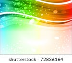 abstract glowing background | Shutterstock .eps vector #72836164