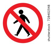 sign not prohibition | Shutterstock .eps vector #728402548