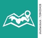 world map location icon vector | Shutterstock .eps vector #728420428