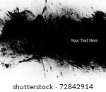 grunge banner with copy space | Shutterstock . vector #72842914