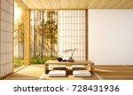 interior design modern living... | Shutterstock . vector #728431936