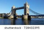 a beautiful view of tower bridge | Shutterstock . vector #728432395