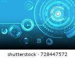 vector communication concept... | Shutterstock .eps vector #728447572