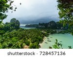 viewpoint at railay east beach  ... | Shutterstock . vector #728457136