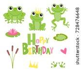 Hoppy Birthday Frogs...