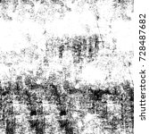 grunge texture black and white. ... | Shutterstock . vector #728487682