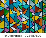 Hand Painted Stain Glass...