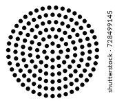 modern design element. black... | Shutterstock .eps vector #728499145