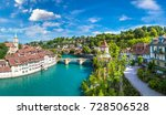 Panoramic View Of Bern In A...