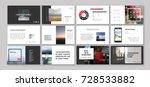 original presentation templates ... | Shutterstock .eps vector #728533882