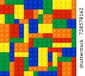 plastic constructor seamless... | Shutterstock .eps vector #728578162