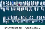 marina spit bridge yachts... | Shutterstock . vector #728582512