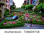 san francisco road usa | Shutterstock . vector #728604718