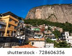 rocinha is the largest favela... | Shutterstock . vector #728606356