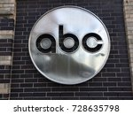 new york city   oct 2017  abc... | Shutterstock . vector #728635798
